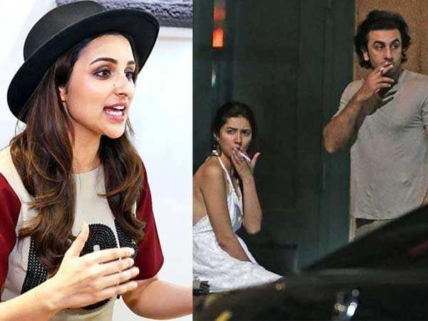 Parineeti Chopra reacts to Ranbir Kapoor and Mahira Khan's leaked NYC pictures