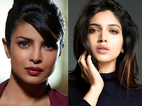 Bhumi Pednekar is crushing big time on Priyanka Chopra