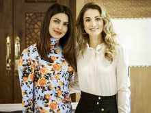 Priyanka Chopra shares a super awesome photo of her with Queen Rania of Jordan