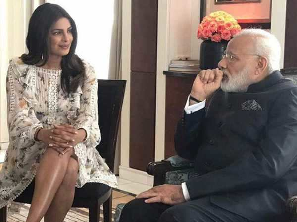 Here is what Priyanka Chopra has to say about PM Narendra Modi and the dress controversy