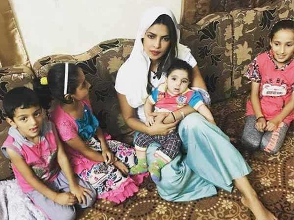 Priyanka Chopra shuts down a Twitter user asking her to visit malnour
