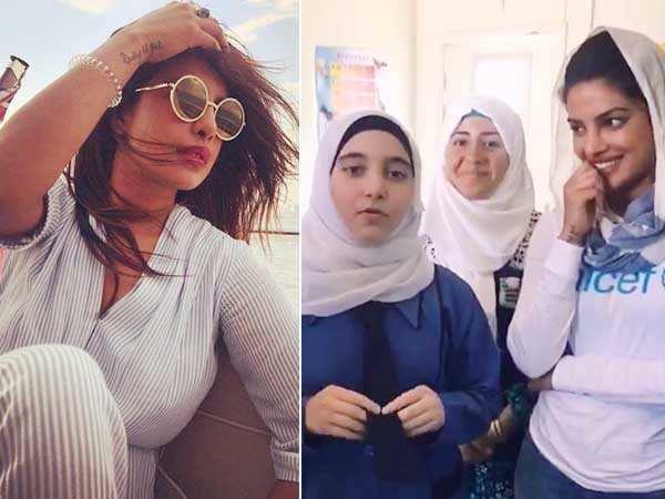 Priyanka Chopra shows some love to Katrina Kaif, Shah Rukh Khan and Salman Khan in this video