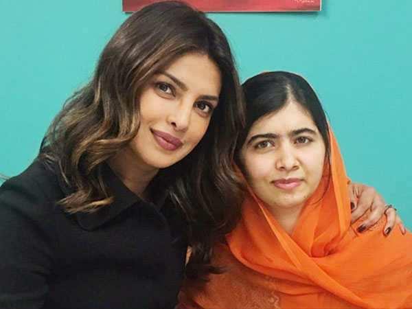 Priyanka Chopra and Malala's Twitter interaction is too cute!