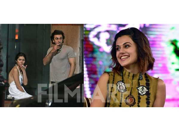Taapsee Pannu's take on the Ranbir Kapoor-Mahira Khan leaked pictures is interesting