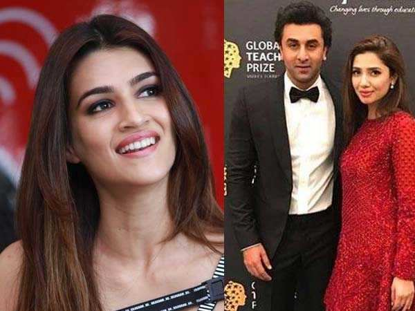 This is what Kriti Sanon has to say about the Ranbir-Mahira controversy