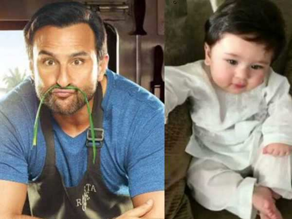 Saif Ali Khan snaps at a journalist on being asked about Taimur on Chef promotions