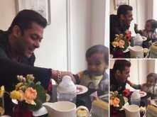Salman Khan's breakfast date with nephew Ahil is super cute!