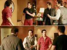 Judwaa's original star Salman Khan surprises Judwaa 2' Varun Dhawan