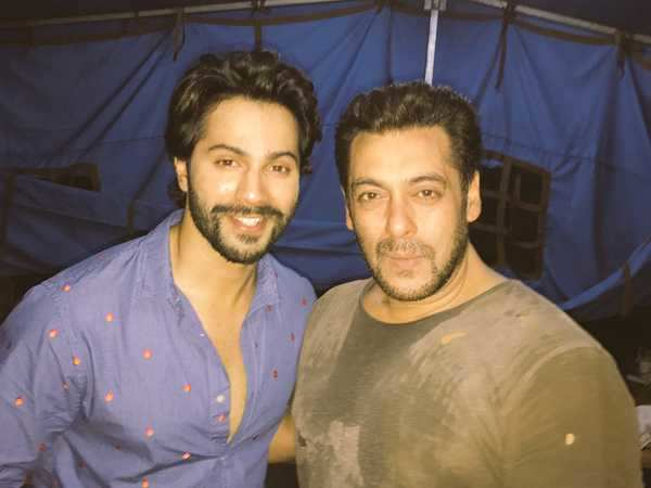 Varun Dhawan has the sweetest thing to say for Salman Khan