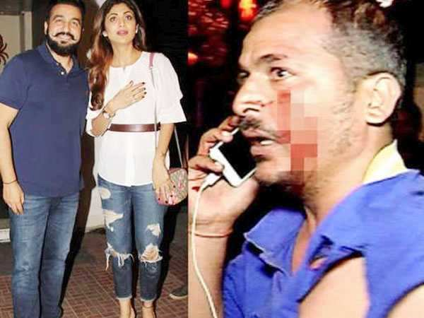 OMG! Shilpa Shetty's bouncers get into a fight with photographers