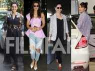 Kriti Sanon, Jacqueline Fernandez, Taapsee Pannu and Tamannaah's day out in the city