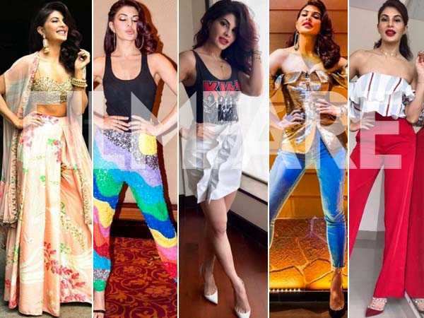 28 times Jacqueline Fernandez wowed us with her style last month
