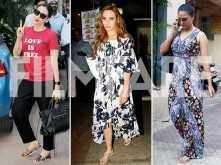 Photos: Karisma Kapoor, Iulia Vantur and Lara Dutta's casual day out