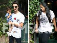 Arpita Khan and Aayush Sharma spend time with son Ahil over a cosy lunch