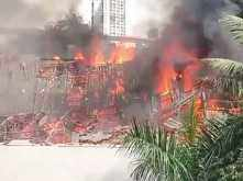 Massive fire breaks out at RK Studio in Mumbai