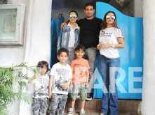 In Pictures: Sisters Malaika Arora and Amrita Arora out for a brunch date with their kids