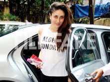 Kareena Kapoor Khan hits the gym on her birthday