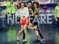 Jacqueline Fernandez, Varun Dhawan & Taapsee Pannu set the floor on fire during Judwaa 2 promotions