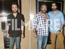 Apoorva Lakhia, Siddhanth Kapoor and Ankur Bhatia attend the special screening of Haseena Parkar