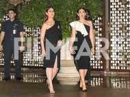 Check out Karisma and Kareena Kapoor Khan's monochrome affair at the Ambani bash