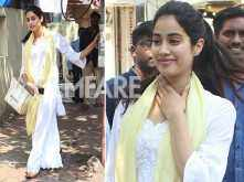 Jhanvi Kapoor's traditional style is just too strong!