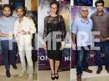 Ayushmann Khuranna, Kalki Koechlin, Amit Masurkar attend the special screening of Newton
