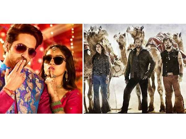 Shubh Mangal Saavdhan and Baadshaho win the box-office
