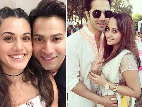 Varun Dhawan's girlfriend Natash Dalal is insecure of Taapsee Pannu