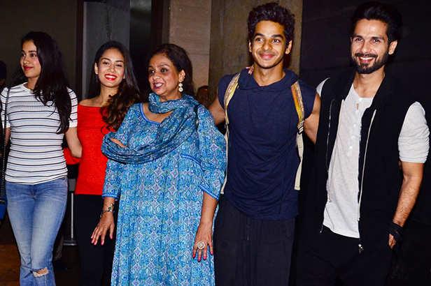 Shahid Kapoor, Ishaan Khatter