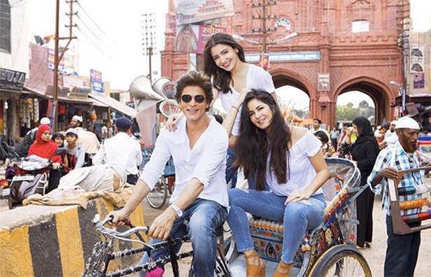 Shah Rukh Khan, Anushka Sharma