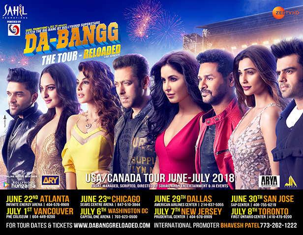 Dabangg tour