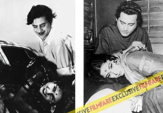 Guru Dutt and Geeta had a tempestuous marriage