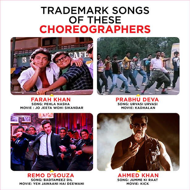 We present a list choreographers who became successful directors
