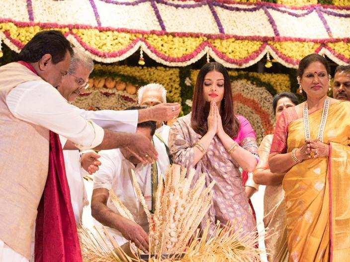 The Bunt community honoured Aishwarya Rai Bachchan with the title