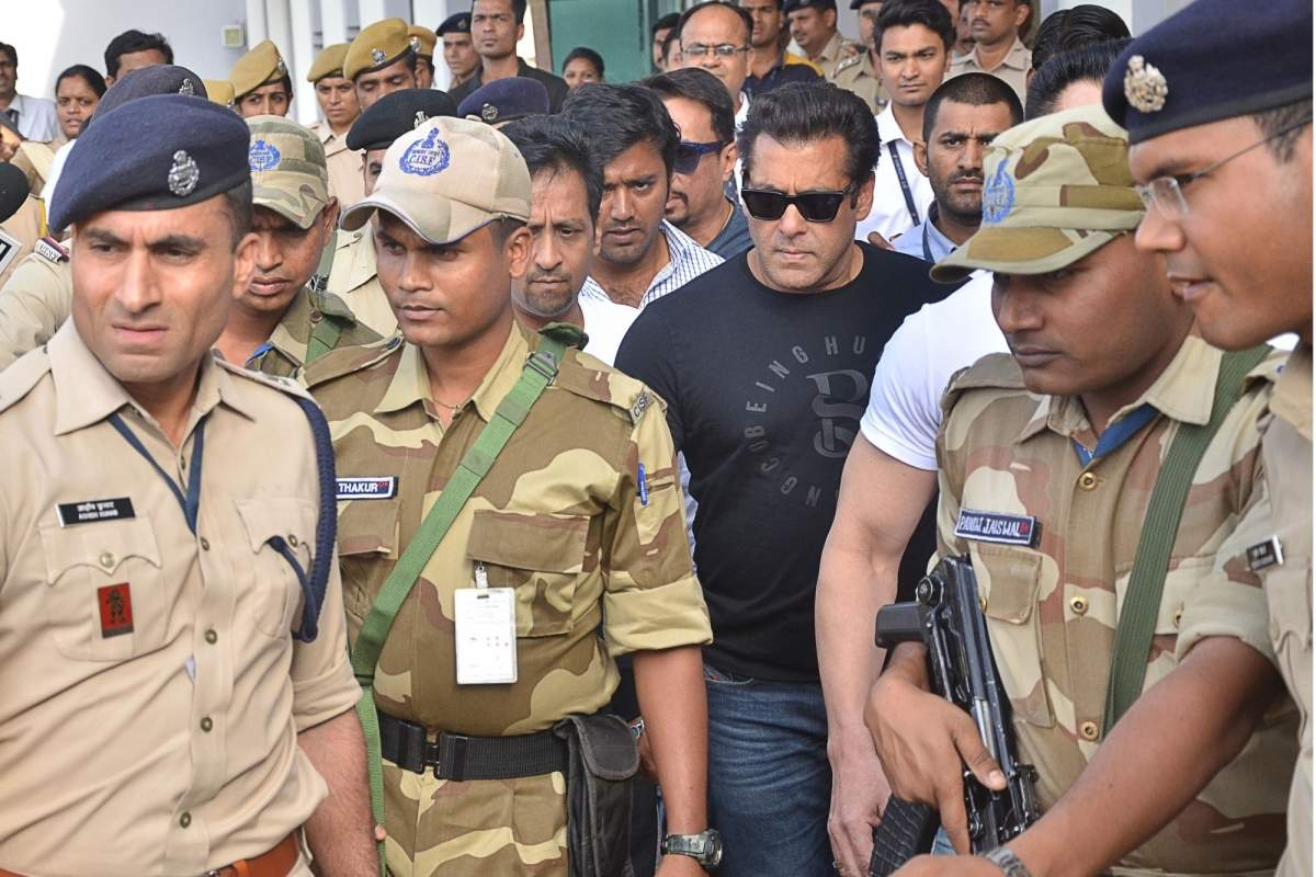 We give you a complete timeline of Salman Khan's blackbuck poaching case