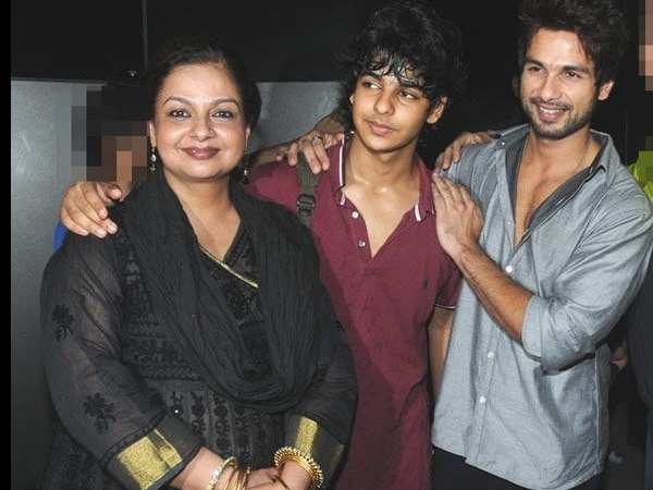 Ishaan Khatter opens up about Shahid Kapoor and their mom