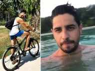 This video of Sidharth Malhotra taking a dip in crystal clear water looks exotic