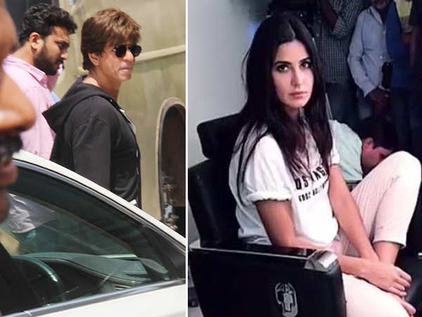 Katrina Kaif and Shah Rukh Khan resume shooting for Zero