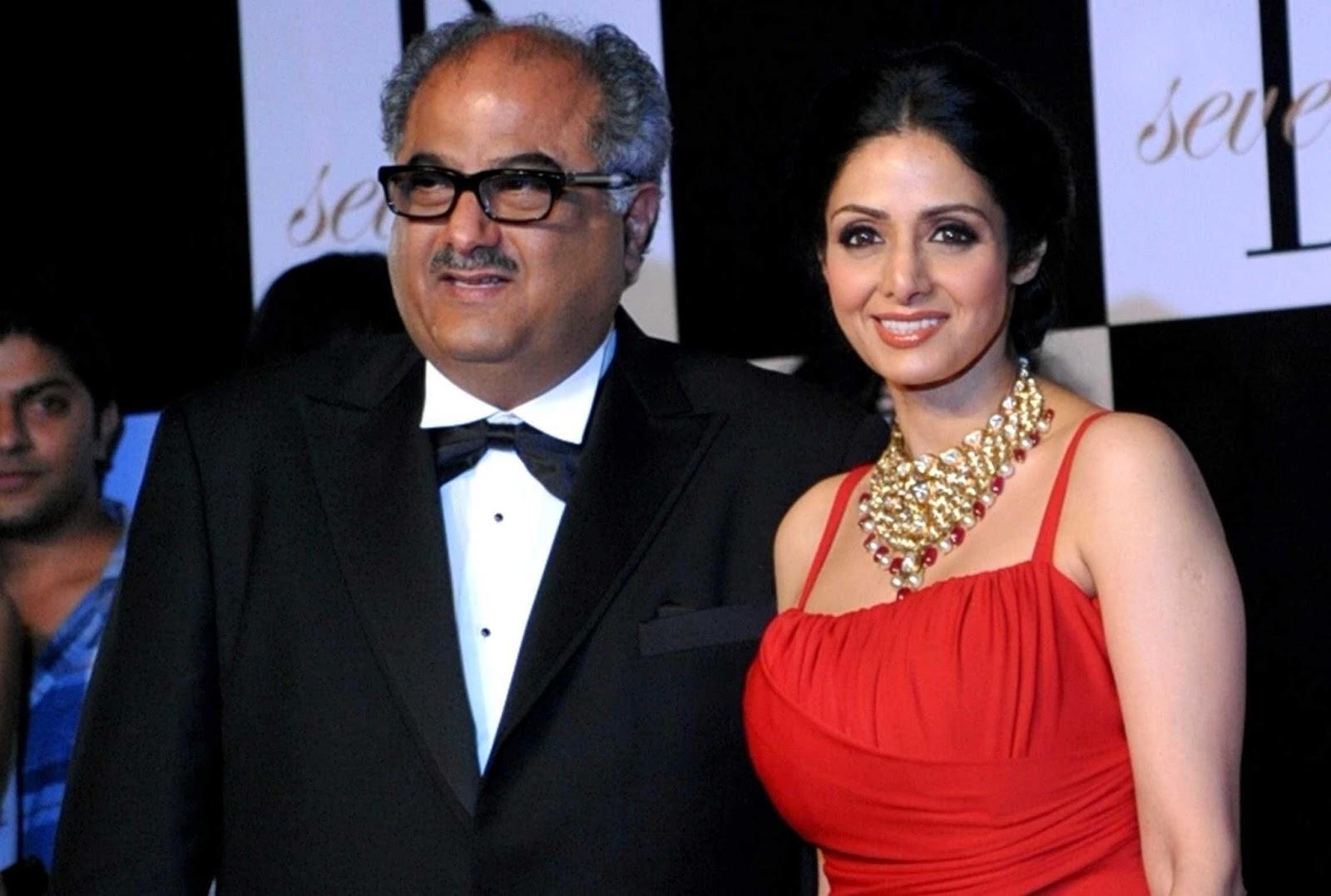 An emotional Boney Kapoor reacts to Sridevi winning the National Sward