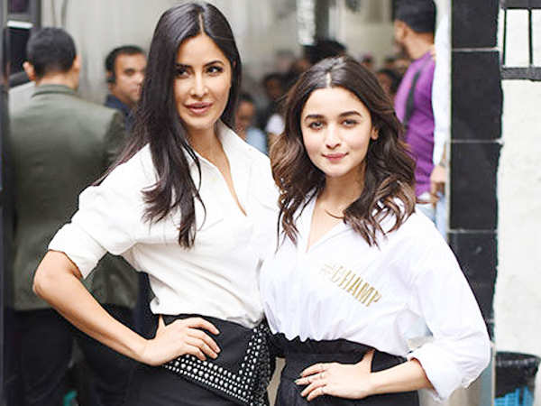 Filmfare Exclusive! All's well between Katrina Kaif and Alia Bhatt