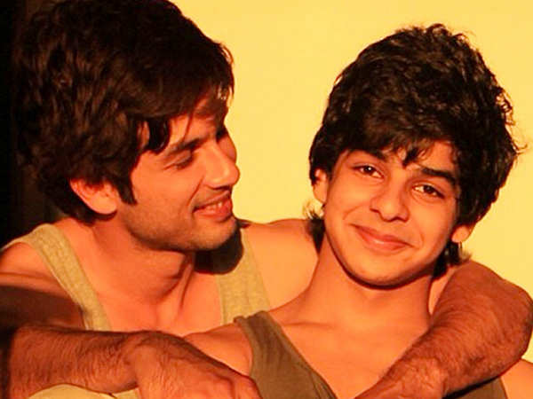 Ishaan Khatter hates being compared to brother Shahid Kapoor