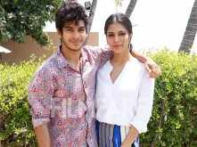 Ishaan Khatter & Malavika Mohanan begin Beyond The Clouds promotions