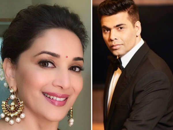 Madhuri Dixit and Karan Johar all set to come together for this project