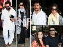 Saif Ali Khan, Tabu, Sonali Bendre, Neelam Kothari return to Mumbai