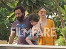 Saif Ali Khan, Kareena Kapoor Khan and Taimur Ali Khan look summer ready in their latest pictures
