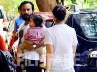 Taimur Ali Khan's day out with Kareena Kapoor Khan and Saif Ali Khan