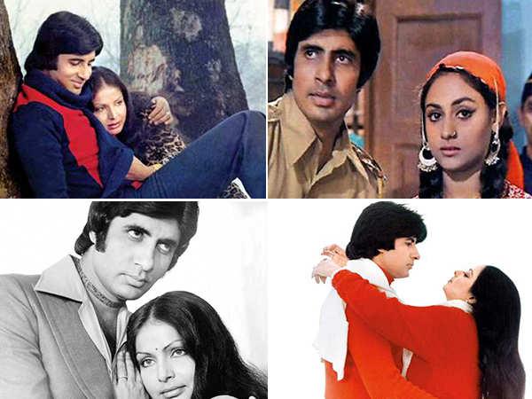 We decode Amitabh Bachchan's on-screen romances