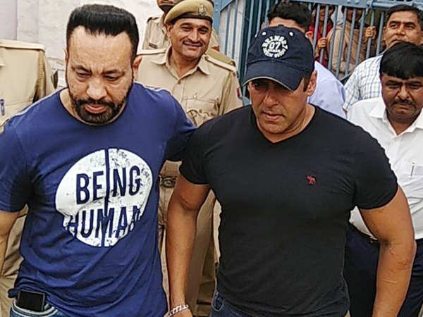 Salman Khan leaves the Jodhpur Jail to return to Mumbai