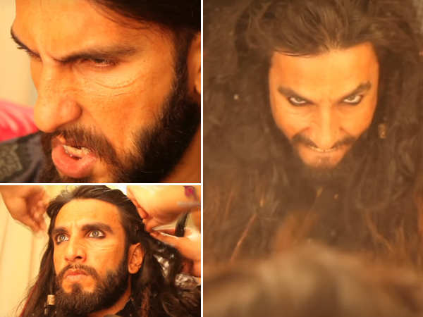 On Padmaavat's 75 days, Ranveer Singh gives a glimpse of what we missed