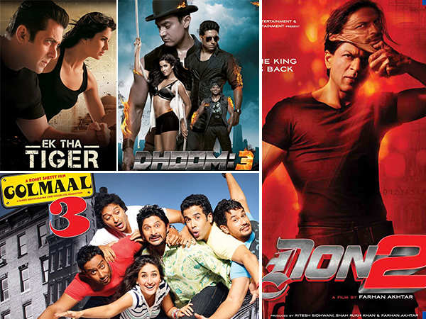 We list down the most successful film franchises in Bollywood